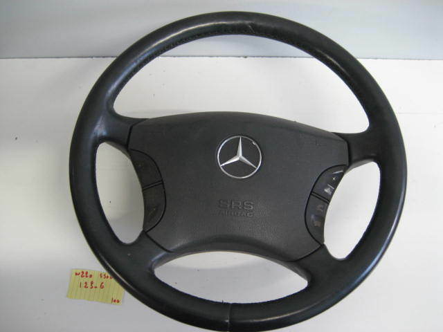 Mercedes-Benz W220 S500 S600 S430 4MATIC  STEERING WHEEL AIRBAG BLACK