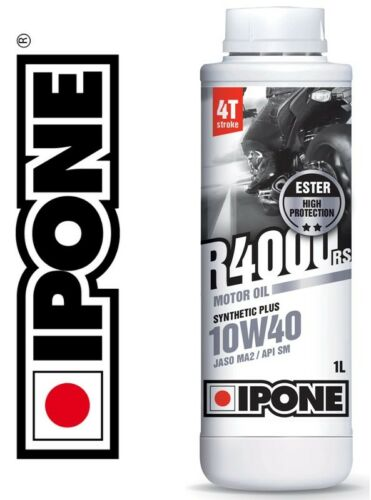 Oil Ipone R4000 Rs 10w40 1 LITER SemiSynthetic 4t Enduro Motorcycle 1 New
