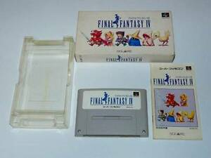 Nintendo-Super-Famicom-Final-Fantasy-IV-FF-4-Japan-SFC-w-box