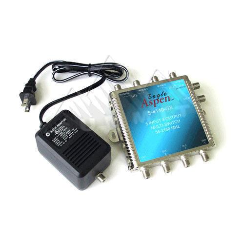 Eagle Aspen 5x4 Satellite Multiswitch S-4140-GX 54-2150 Mhz