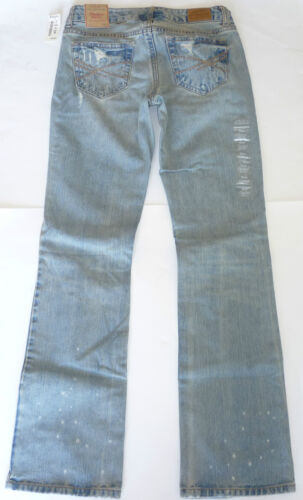 Womens AEROPOSTALE Chelsea Destroyed Vintage Wash Bootcut Jeans NWT #0243
