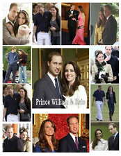 PRINCE WILLIAM & KATE  PHOTO-FRIDGE MAGNETS