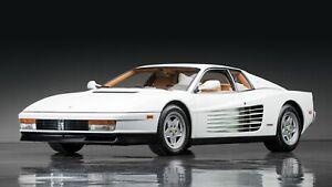 1984-Ferrari-Testarossa-White-Auto-Car-Art-Silk-Wall-Poster-Print-24x36-034