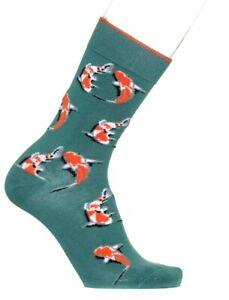 Bonnie-Doon-034-Koi-034-Socken-Baumwolle-Size-40-46