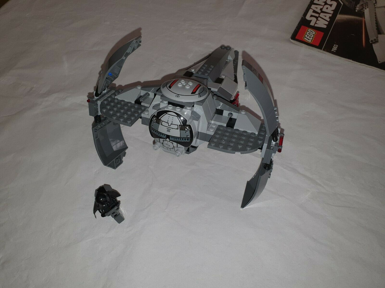 Lego Star Wars 7663 Sith Inflitrator - Used - 100% Complete -Very Good Condition