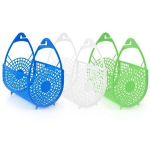 PLASTIC-PEGS-HANGING-BASKET-BAGS-HOLDER-STORAGE-LAUNDRY-CLOTHES-WASHING