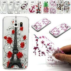 Clear-Transparent-Gel-Soft-Rubber-TPU-Back-Case-Cover-For-Various-Mobile-Phone