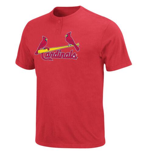 St Louis Cardinals MLB 2 Button T shirt