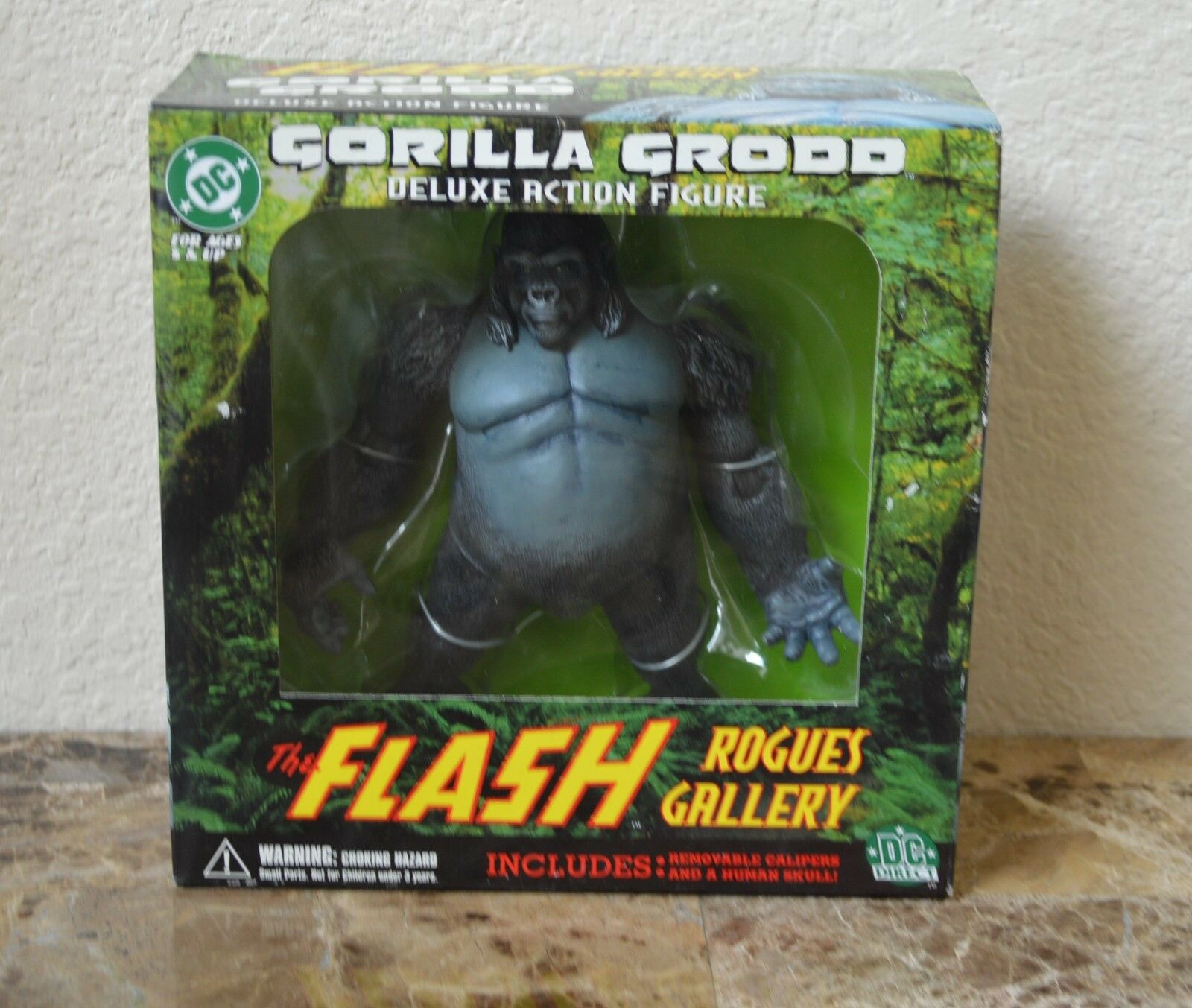Nuovo Nuovo Nuovo DC Direct the Flash Rogues Gtuttiery Gorilla Grodd Deluxe azione cifra d0d8c5