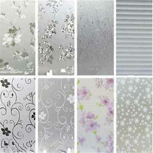 45-200CM-Waterproof-Frosted-Cover-Bedroom-Bathroom-Window-Sticker-Glass-Film-Hot