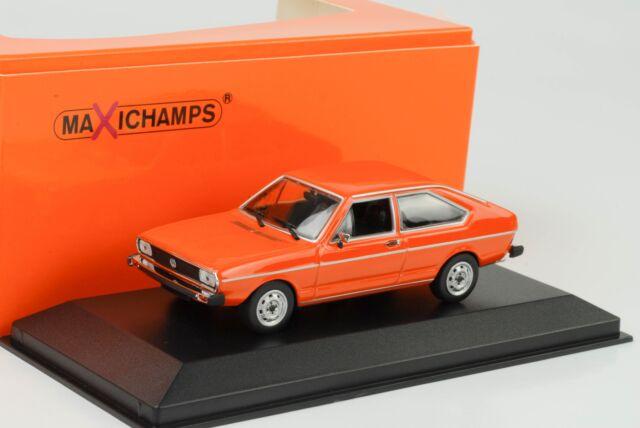 coche modelo 1:43//maxichamps VW Passat 1975 naranja