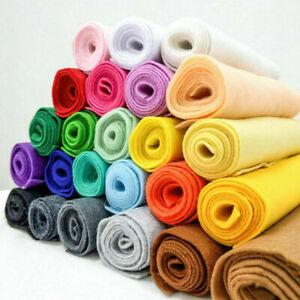 Details Zu Soft Felt Fabric Metre 14mm Thick Non Woven Wool Christmas Diy Craft Material