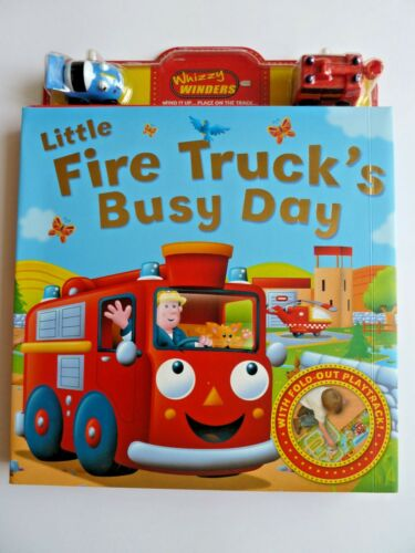London taxi, Wind up Toy fire engine old mac donald with track book planes