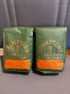 2 Bags Stumptown Coffee Roasters Hair Bender Whole Bean Coffee 12 Oz Bb 9 13 20 Ebay