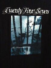 TWENTY FOUR SEVEN tee small T shirt Christian rock band 24-7 metal OG