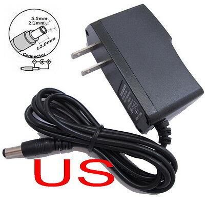 5V Volt 300mA 0.3A Wall Power Adapter US Outlet Plug AC DC Power Supply Output