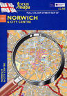 Full Colour Street Map of Norwich: And City Centre by Focus Maps (Sheet map, folded, 2004)