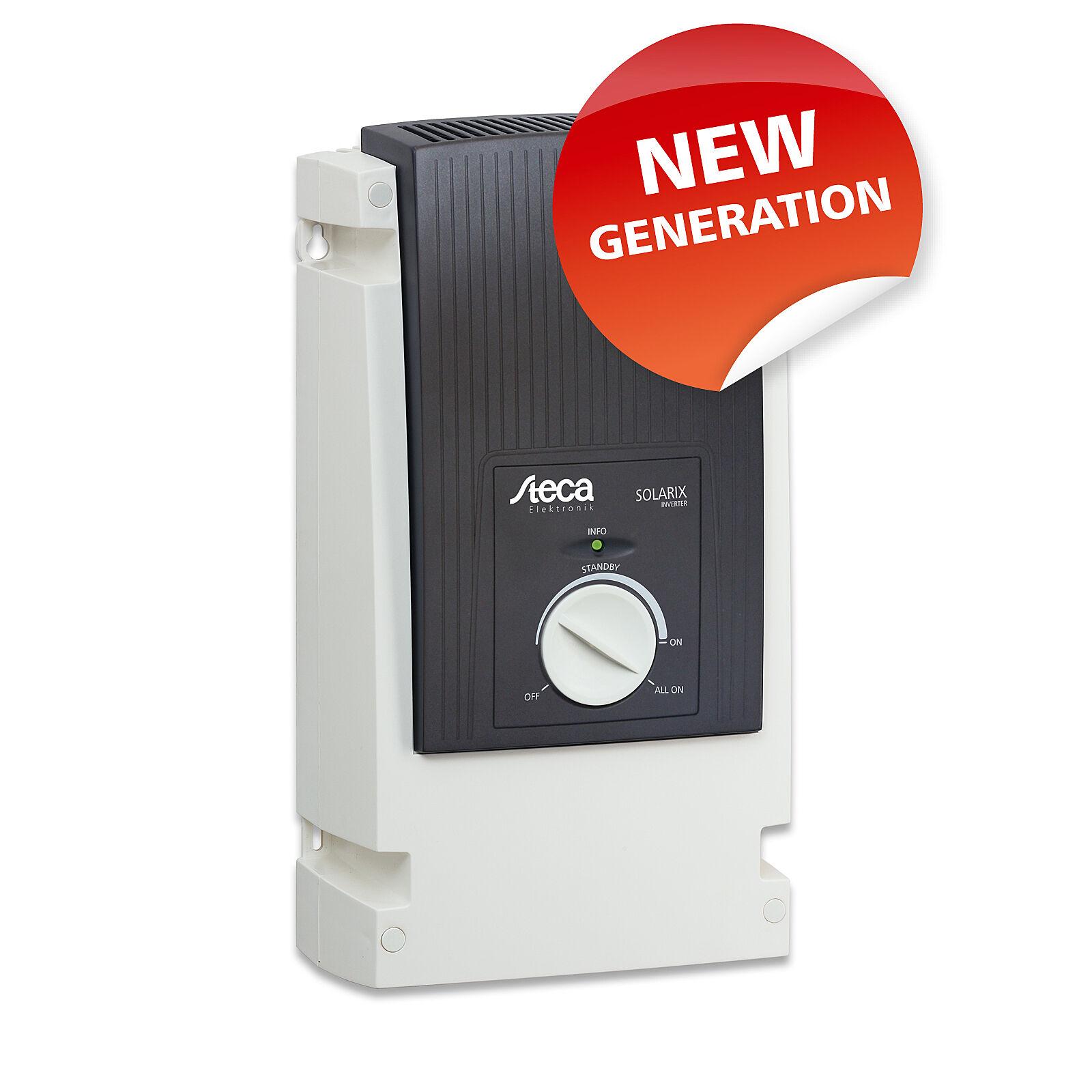 Steca Solarix PI 500W 12V pure sine wave off-grid power inverter 230V AC Germany