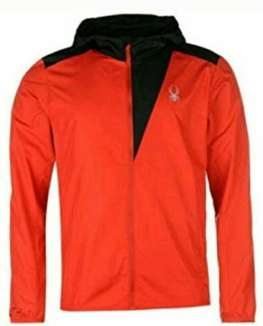 Spyder Alpine Lightweight Men/'s Jacket Red Black all Sizes New with Label