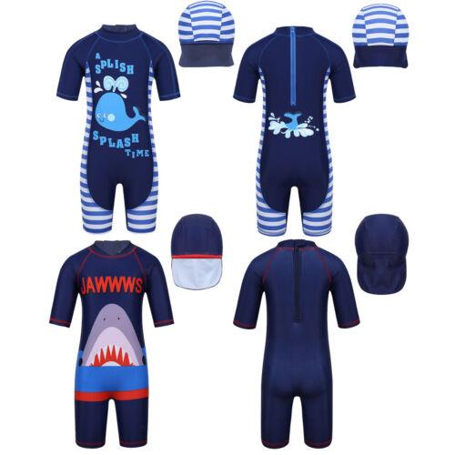 Kids Girls Boys Swimming Rash Guard UV 50 Surfing Sunsuit Swimwear Beachwear