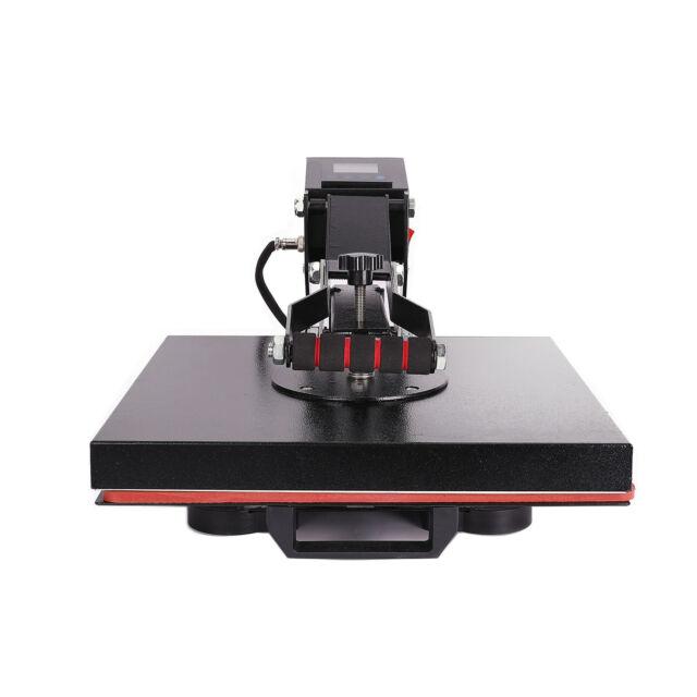 "15/""x15/"" Clamshell T-shirt Heat Press Machine Digital Sublimation Transfer 110v for sale online"