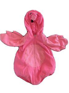 Fantasia De Halloween Flamingo Rosa Euc Baby 12 Meses Plush Acolchoado Quente Carter S Ebay