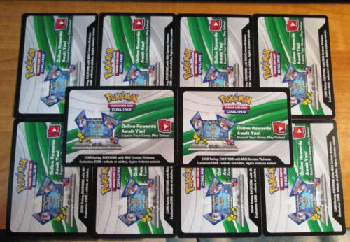 10x Emailed Primal Clash Pokemon Online Code XY X und Y Ex Set Pack Spiel