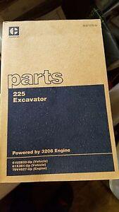 Caterpillar-225-Excavator-Parts-Book