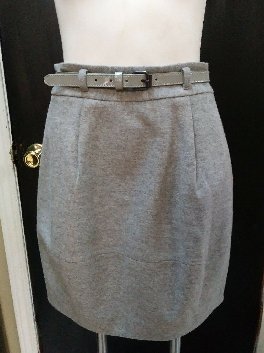 Theory Wool Blend Skirt Size 6