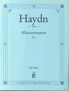 HAYDN-Klaviersonaten-IV