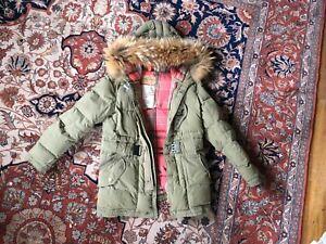 Womens-Parajumpers-windbreaker-parka-Jacket-size-8-winter-childrens-kids-snow