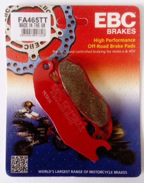 Derbi Cross City 125 (2009 to 2014) EBC TT Series FRONT Brake Pads (FA465TT)