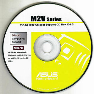 Asus M2V-MX Afudos Drivers Download Free