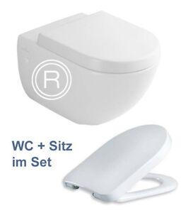 villeroy boch subway wand wc ceramicplus 660010r1 wc sitz tube ebay. Black Bedroom Furniture Sets. Home Design Ideas