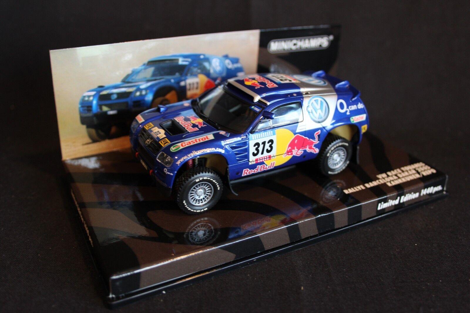 comodamente Minichamps VW Race Race Race Touareg 2005 1 43  313 Kankkunen   Repo Dakar Rtuttiy  i nuovi stili più caldi