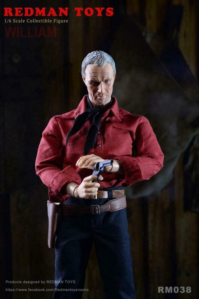 1 6 escala rojoman TOYS RM038 Unforgiven William Figura De Acción