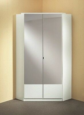 Qmax 'Imagine' Range. German Made Bedroom Furniture. Alpine White & Mirrored.