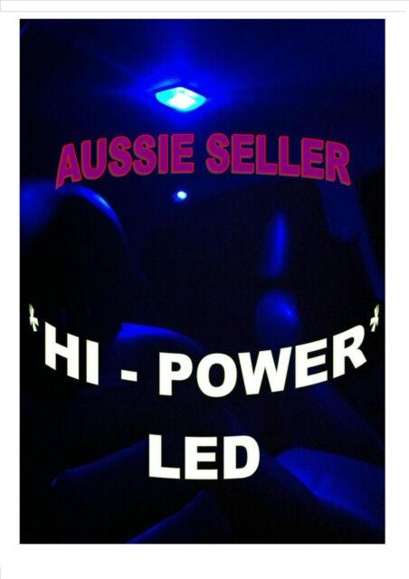 SUITS FORD AU BA BF FG FPV XR6 XR8 HI POWER BRIGHT LED INTERIOR LIGHT - BLUE