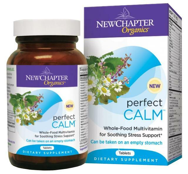 New Chapter Perfect Calm Multivitamin 72 Tablets for sale online ...