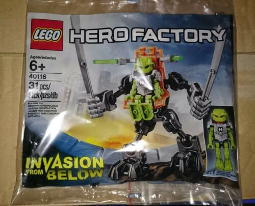 LEGO 40116-Hero Factory-invasione from below Polybag//PROMO