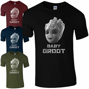 4ee974c61f8 Details about Baby Groot T-Shirt - I Am Cute Guardians of the Galaxy Rocket  Kids Mens Gift Top