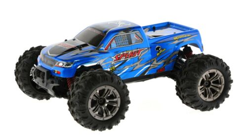1:16 Scale Blue High Speed 36km//h 4WD 2.4Ghz Remote Control Truck 9130