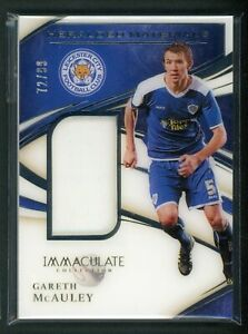 2020 GARETH MCAULEY 72/99 JERSEY PANINI IMMACULATE COLLECTION HERALDED MATERIALS