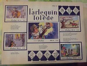 Chromos Chocolat Poulin Comptines L'Arlequin de Tolède la Marche de Babette FVCH9ghf-09163311-868507509