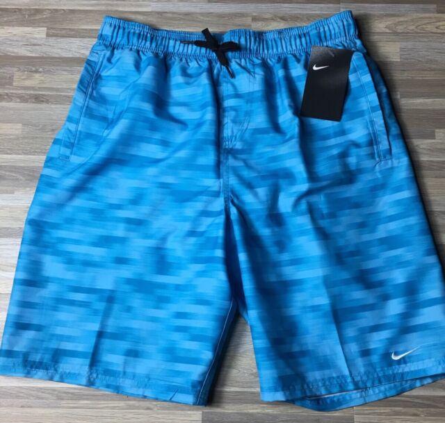 "9c5da088a2 Nike Horizon 11"" Volley Men's 2xl XXL Swim Trunks Board Shorts Ness8448-737"