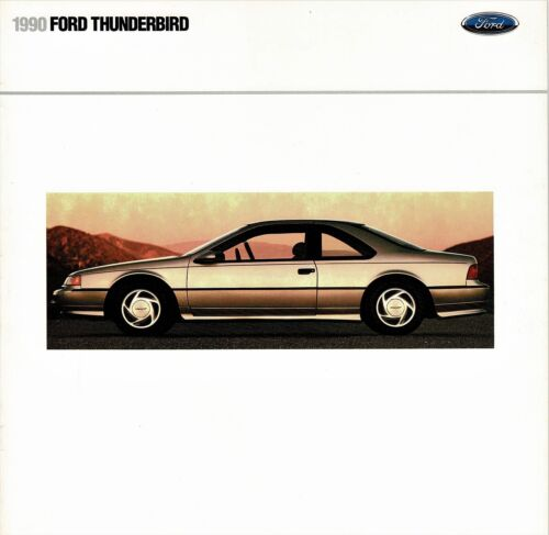 1990 Ford Thunderbird Super Coupe LX Dealer Sales Brochure