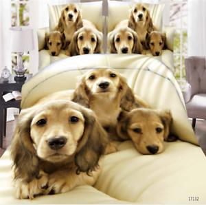 3D-Animal-Printed-Effect-Bedding-Set-Duvet-Cover-Pillowcase-Sheet-Queen-Size