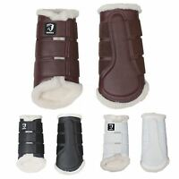 Horka Fur Horse Riding Equine Stylish Comfortable Soft Protective Brushing Boots