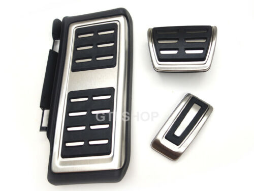 LHD AT only VW OEM R-line Pedals Pedal Pads Caps Fit VW Tiguan 2