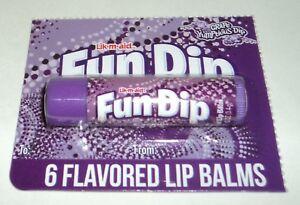 Taste-Beauty-LIK-M-AID-FUN-DIP-GRAPE-YUMPTIOUS-DIP-Flavored-Lip-Balm-NIP